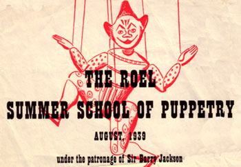 Roel Summer School of Puppetry 1939