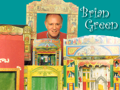 Brian Green with Toy Theatre Collection