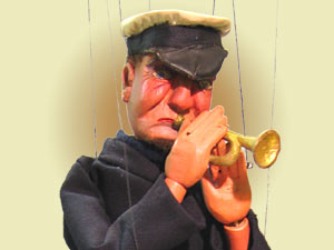 Cornet Player by D'Albert