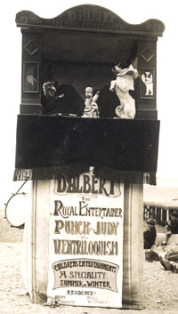The Original D'Albert Booth, Morecambe, 1923