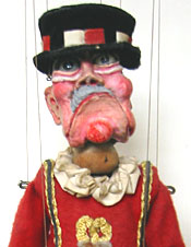 Alfred Warder of the Tower by Frank Worth & Birmingham Puppetry Guild