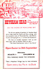 Heysham Head Flyer