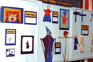 Family of Puppets Wall