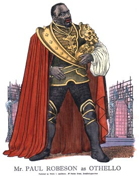 Paul Robeson as Othello 1959