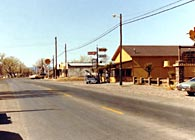 Main Street in a small West Texan Town