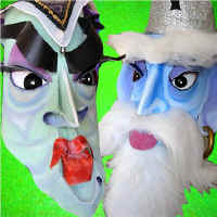 Witch and Wizard Masks