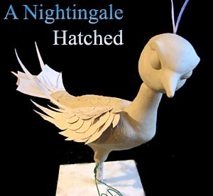 Nightingale Sculpt in Clay
