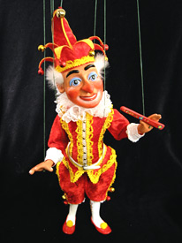 Mr Punch Marionette by Glenn Holden & Ian Denny