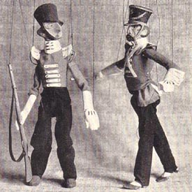 Marionettes by William Simmonds